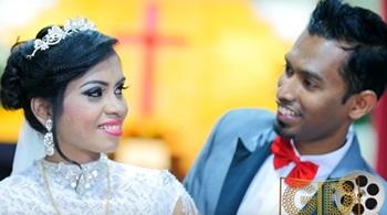 Church Wedding Highlights of Joshua Francis & Alexanderia Amaladass