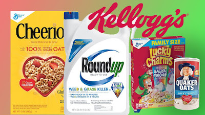 A New Study Found Weedkiller in 28 Cereals and Other Kids' Foods