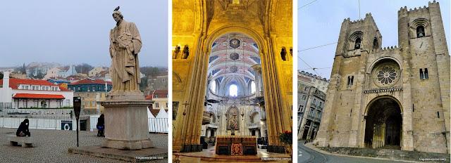 Lisboa- Mirador das Portas do Sol e Sé Catedral