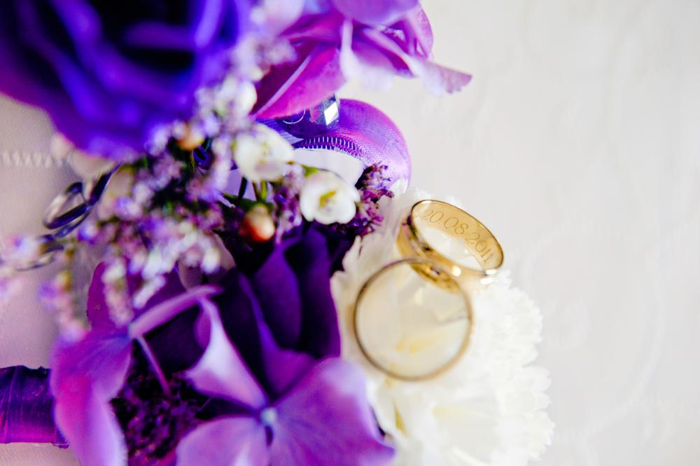 Fioletowy ślub i wesele - wspomnienia i relacja z okazji 7 rocznicy ślubu