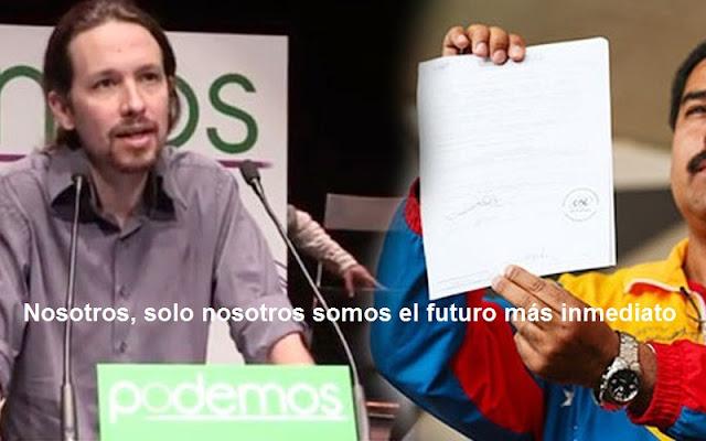 Bloog de Juan Pardo:  La victoria del Tirano, Nicolás Maduro, significa el fin de Podemos. Los incluye en la burguesía parasitaria