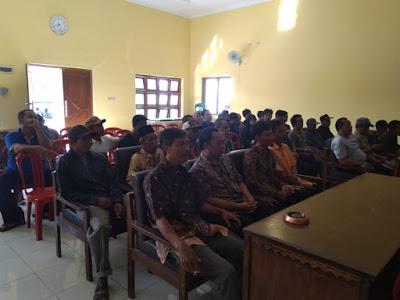 Musyawarah Bersama RT - RW di Desa Pananjung Terkait Kegiatan 17 Agustus 2018