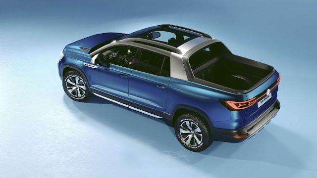 Tarok Concept: el nuevo Volkswagen pick up