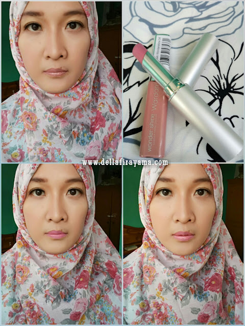 Wardah Wondershine No. 02 (Creamy Brown) dan No. 04 (Pale Pink)