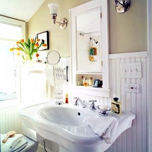 rizkimezo: Cottage Style Bathroom Design Ideas