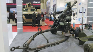 Boran 105 mm Air Transportable Light Towed Howitzer (ATLTH)