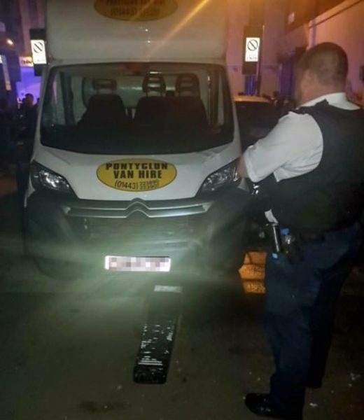 London mosque attacker van