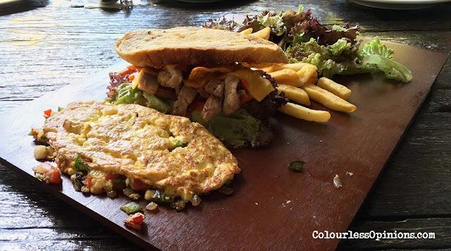 the bbp brunch sandwich