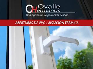 Ovalle Hermanos Aberturas de PVC con aislación térmica