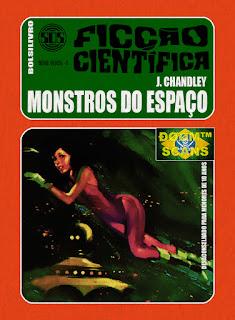 bolsilivro sos ficção científica cedibra série verde chandley monstros espaço