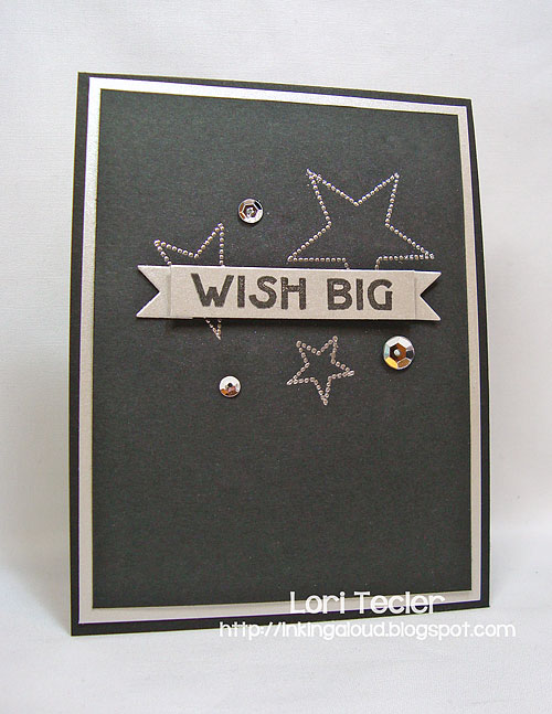Wish Big-designed by Lori Tecler/Inking Aloud-stamps and dies from Clear and Simple Stamps