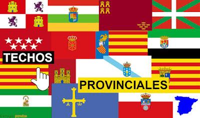Banderas provinciales de España