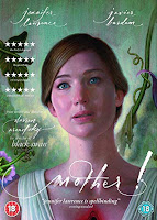 Portrait of Jennifer Lawrence from the film mother!