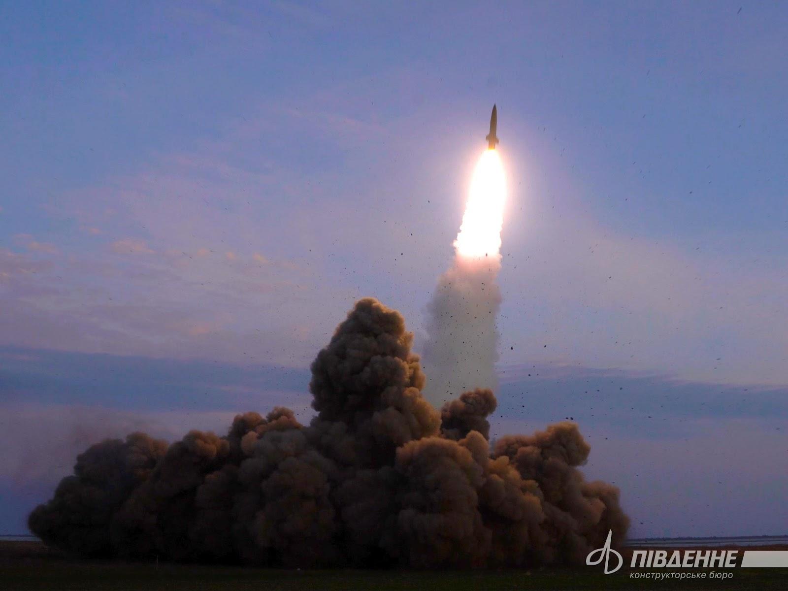 КБ Південне про ракетні комплекси Точка-У та Сапсан