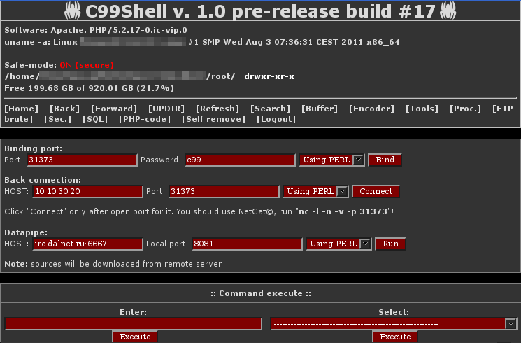 C99 php Shell Download (Brain City)