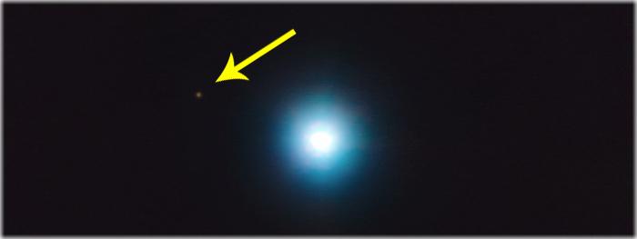 observado possível exoplaneta a 1200 anos-luz de distância