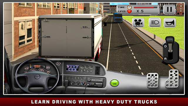 Road Truck Simulator 3D