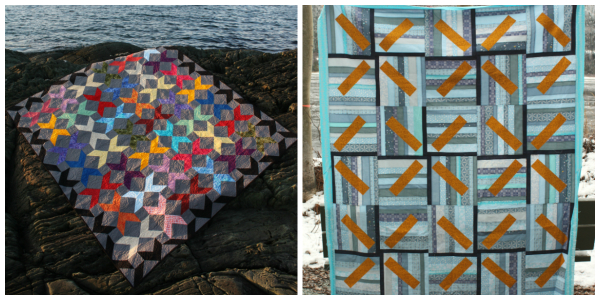 Love Birds and Wind Farm quilt patterns | DevotedQuilter.blogspot.com