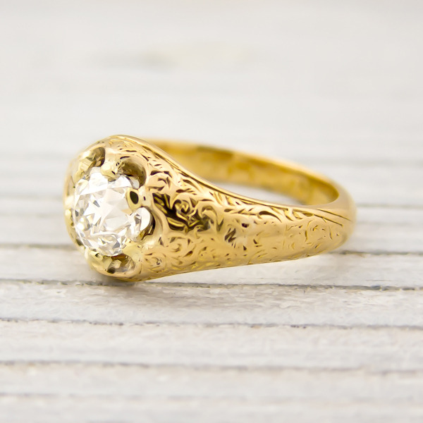 erstwhile jewelry antique victorian engagement ring 7948 - {Frosted Find}  Erstwhile Jewelry