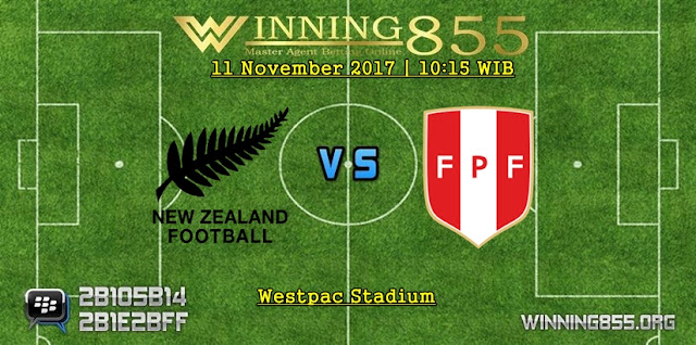 Prediksi Skor New Zealand vs Peru | 11 November 2017