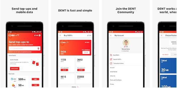 App Dent : Cara Mendapatkan Pulsa Gratis dari Aplikasi Dent Android