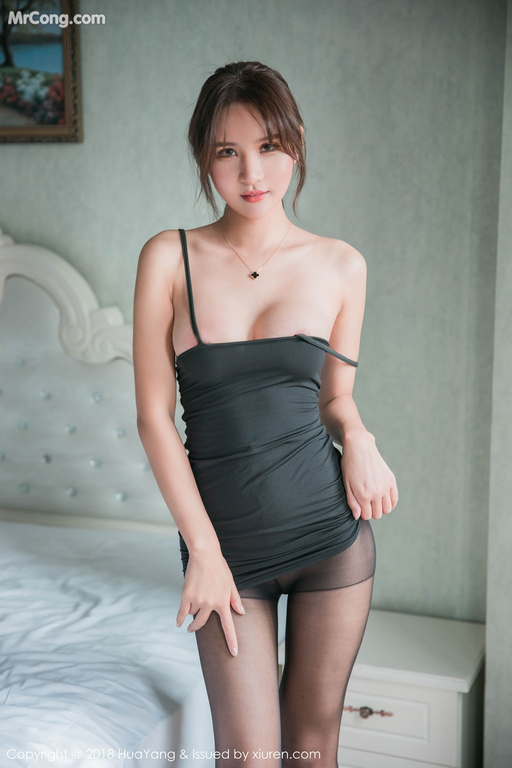 Image HuaYang-2018-11-14-Vol.095-SOLO-MrCong.com-017 in post HuaYang 2018-11-14 Vol.095: Người mẫu SOLO-尹菲 (46 ảnh)