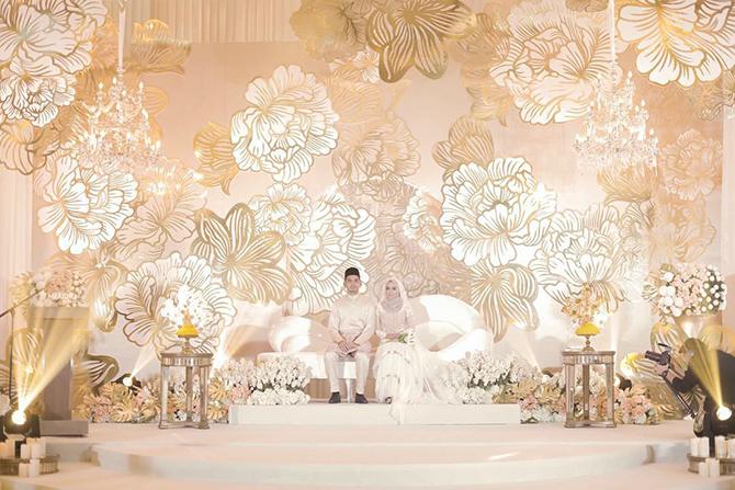 Pelamin Kahwin Ummi Nazeera