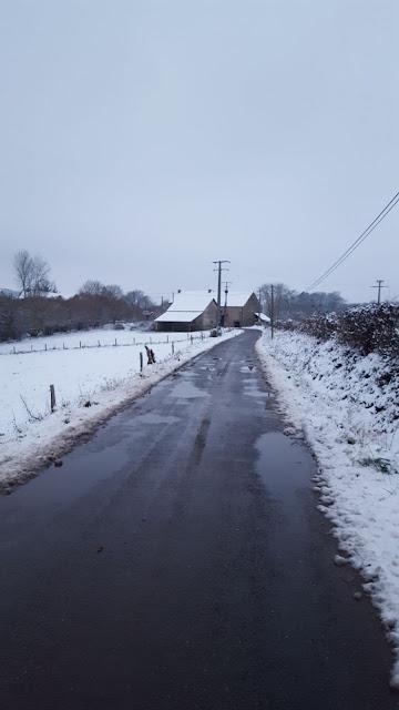 Huis in de sneeuw