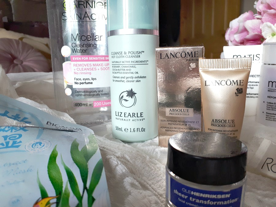 Garnier Micellar Water, Liz Earle Cleanse & Polish, Lancome Precious Cells, Review, Empties, The Style Guide Blog
