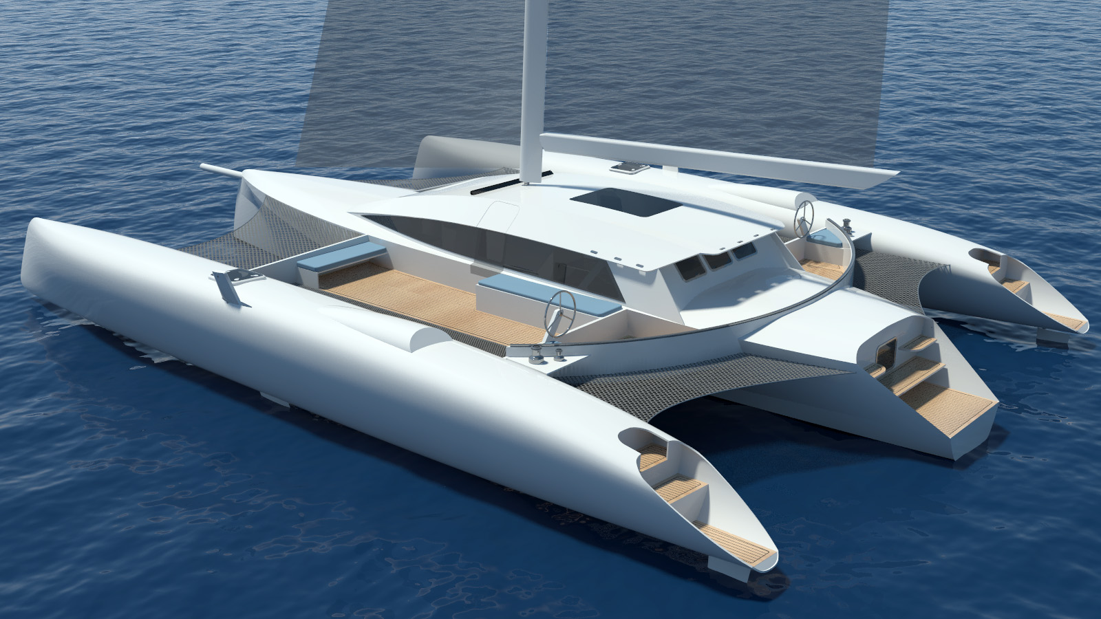New 15mts Tri by Schionning Designs | Catamaran Racing, News & Design