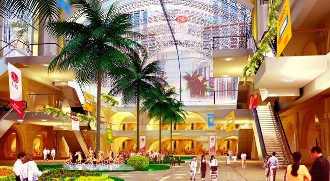 Khu trung tâm thương mại Green Pearl Minh Khai
