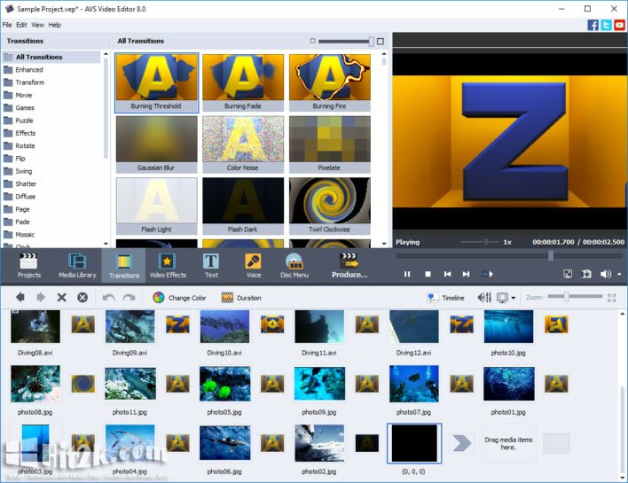 AVS Video Editor: Easy To Use, Full Featured Editing Software