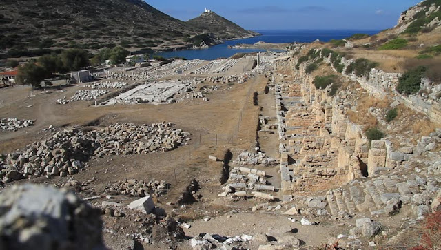 New findings unearthed at Knidos in western Turkey
