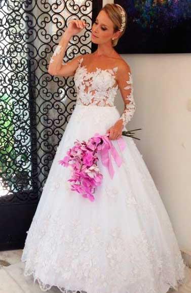 Ronaldo Esper vestido de noiva do estilista