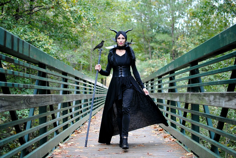DIY Halloween 2018: Maleficent and The Grinch