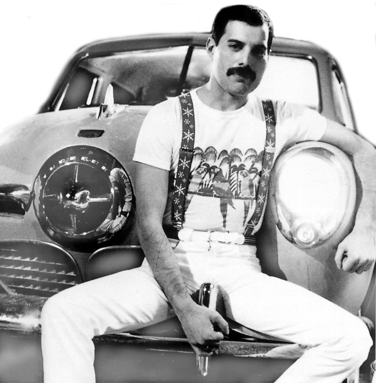 Awesome Pictures Of Rock Stars Posing With Their Cool Cars - Cool cars vintage