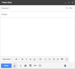 menulis pesan email gmail