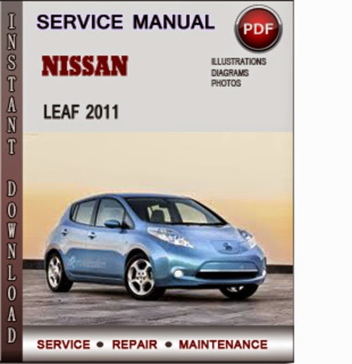 nissan leaf 2011 service manual
