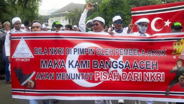 Aceh Tuntut Pisah Dari NKRI Bila Dipimpin Pembela Ahok