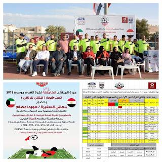 دورة_الملتقي المصرين بالكويت رقم5موسم2019