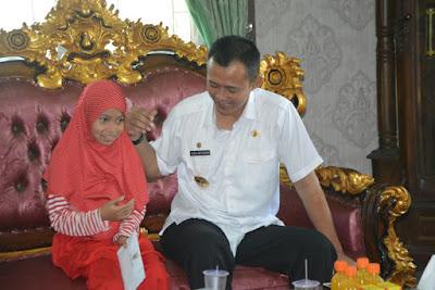 Lolos Hafidz Indonesia 2017, Asiyah Tsaqibah Bocah Asal Pringsewu Minta Dukungan Masyarakat Lampung