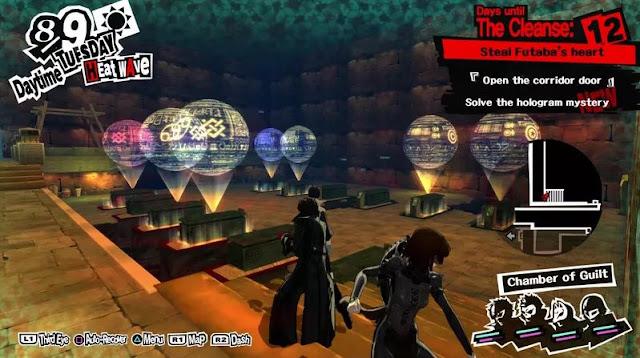 Walkthrough Persona 5: Futaba Pyramid Palace - Bahasa Indonesia
