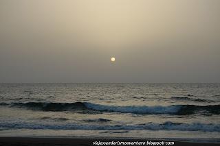 Atardecer en la Playa de Guguy o Güigüí