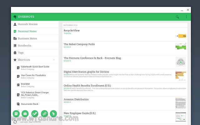 Evernote setup Full Version