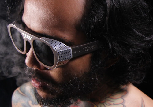 Ten major brands make and sell handmade wooden eyewear and each unique design