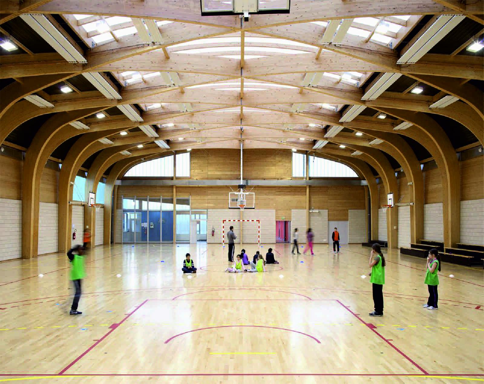 Gymnasium R 201 Gis Racine By Atelier D Architecture Alexandre