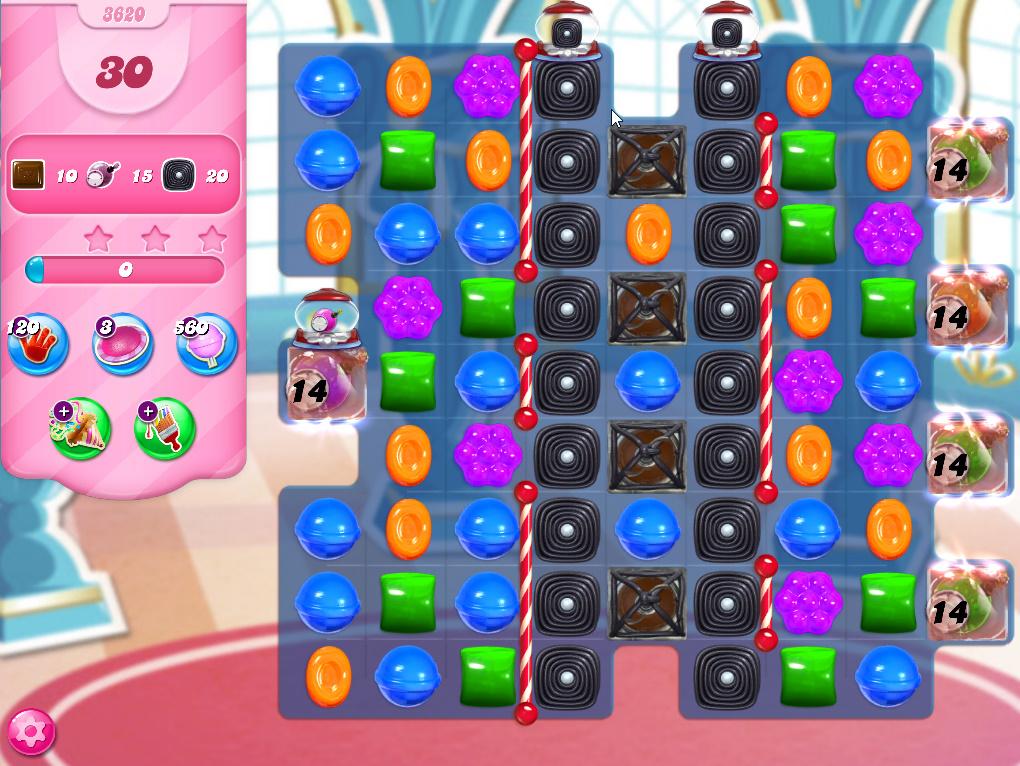 Candy Crush Saga level 3620