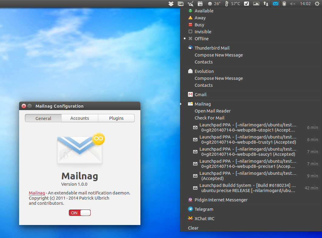 Mailnag Email Notifier Sees New Major Release, Is No Longer Just For