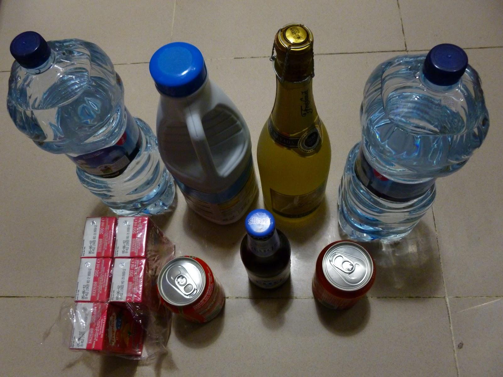 orinar frecuentemente después de una botella de agua