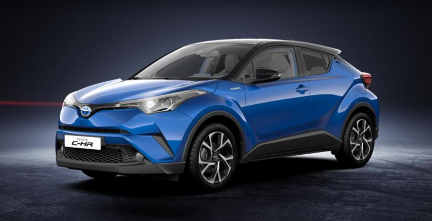 toyota c hr 2018 couleurs colors